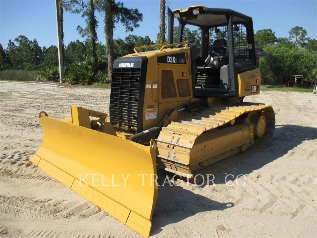 Caterpillar D3K2LGP, Bulldozer, Équipement De Construction