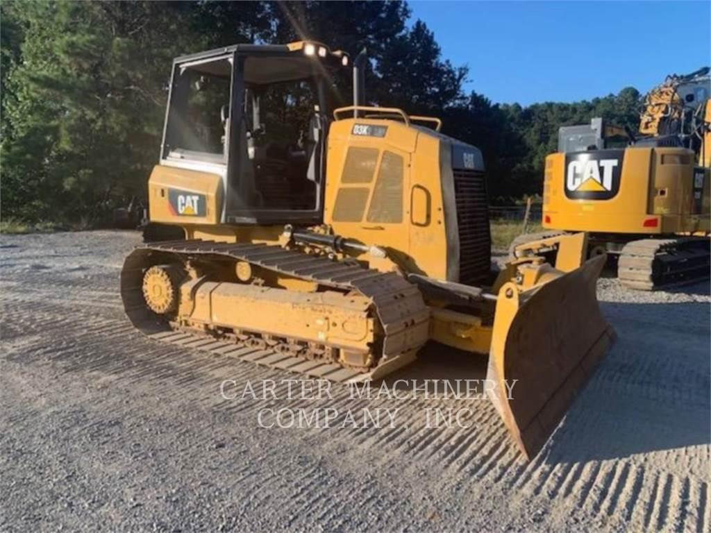 Caterpillar D3K2LGP CY, Bulldozer, Équipement De Construction