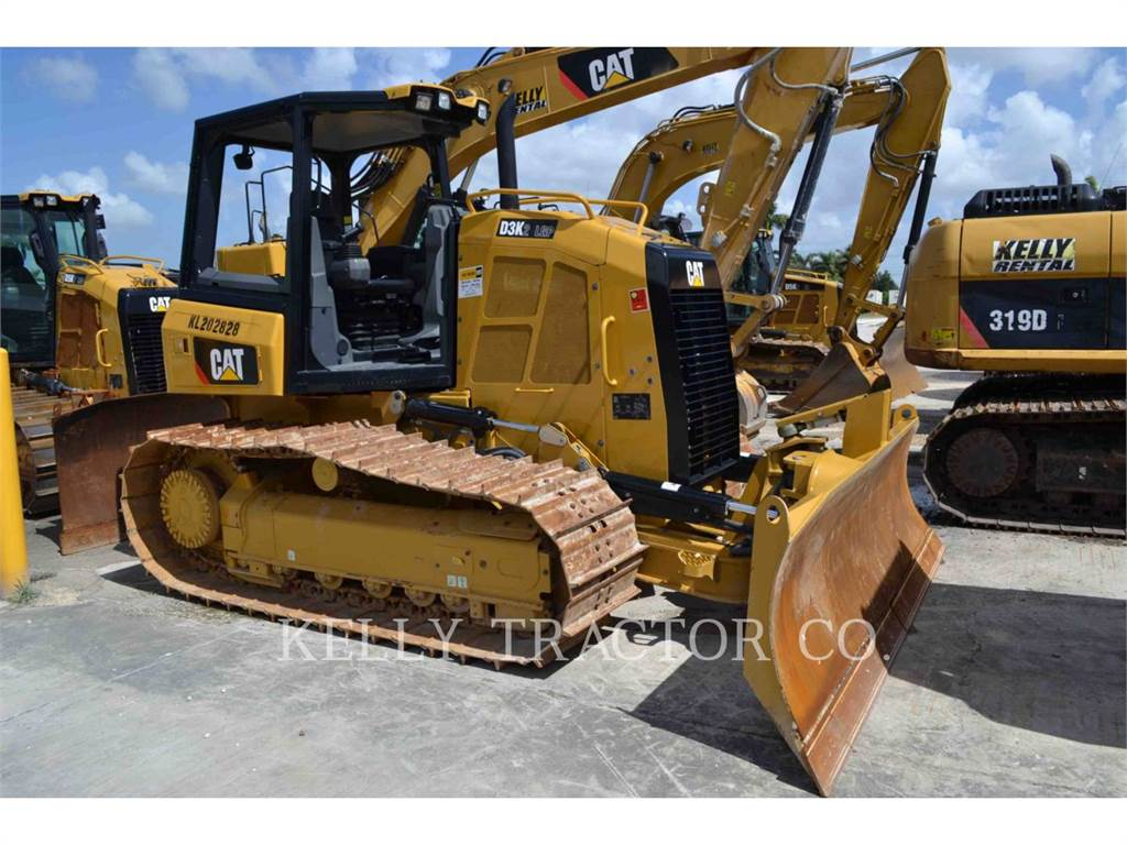Caterpillar D3K2LGP, Bulldozers, Attrezzature Da Costruzione