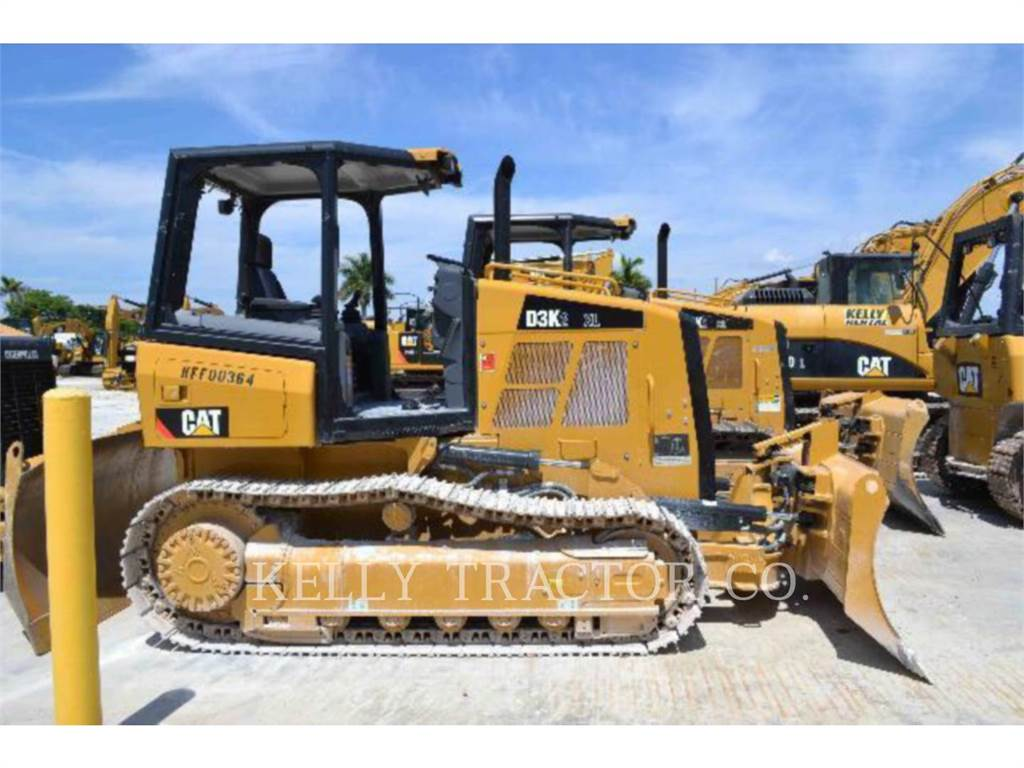 Caterpillar D3K2XL, Bulldozer, Équipement De Construction