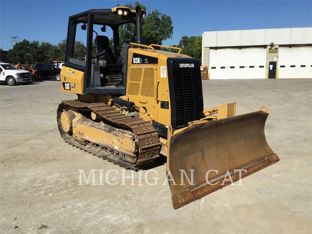 Caterpillar D3K2XL, Bulldozer, Équipement De Construction