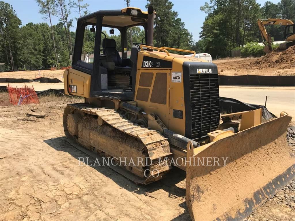 Caterpillar D3K2XL, Tratores de rastos, Equipamentos Construção
