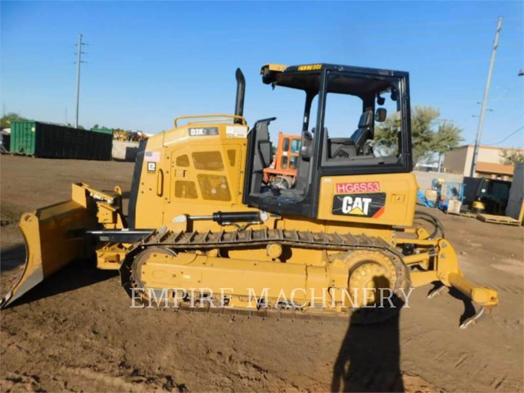 Caterpillar D3K2XL、ブルドーザー、建設