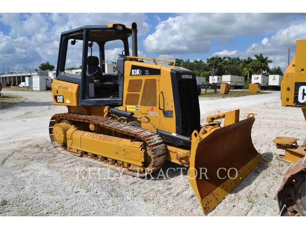 Caterpillar D3K2XL, Bulldozers, Bouw