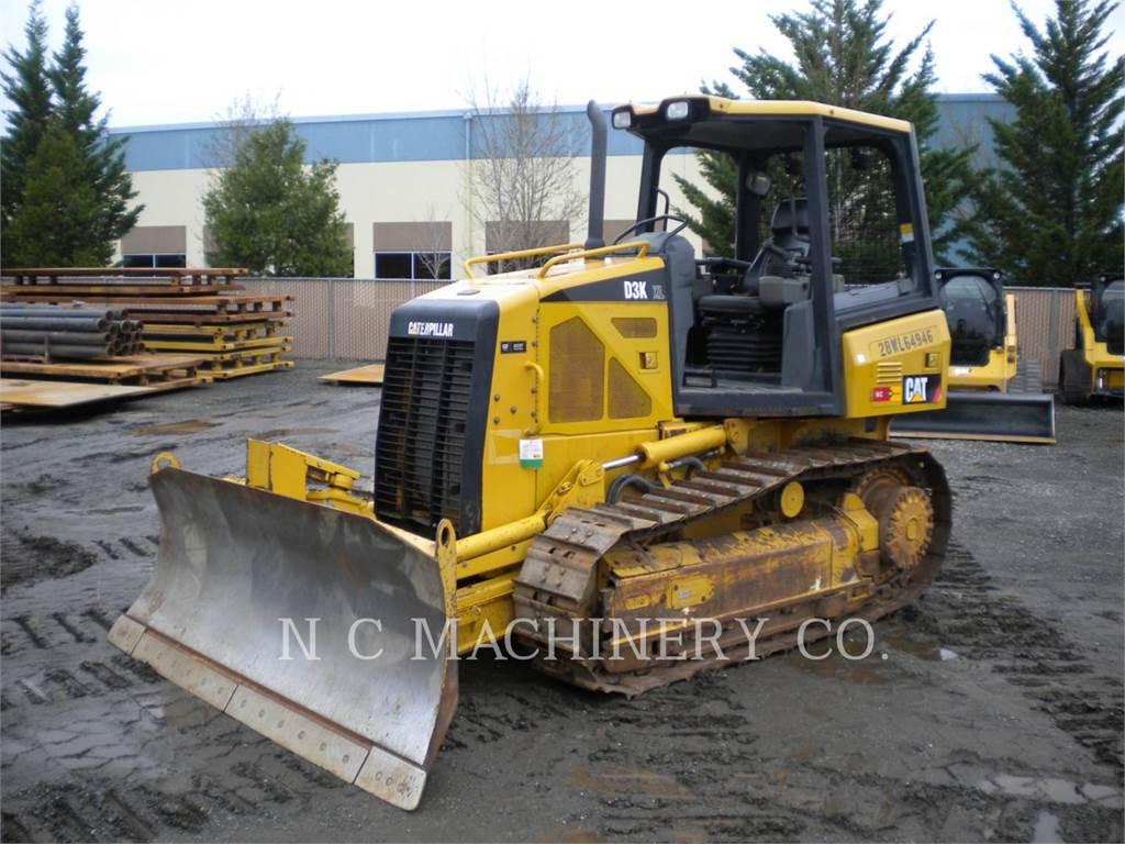 Caterpillar D3KXL, Spycharki, Sprzęt budowlany