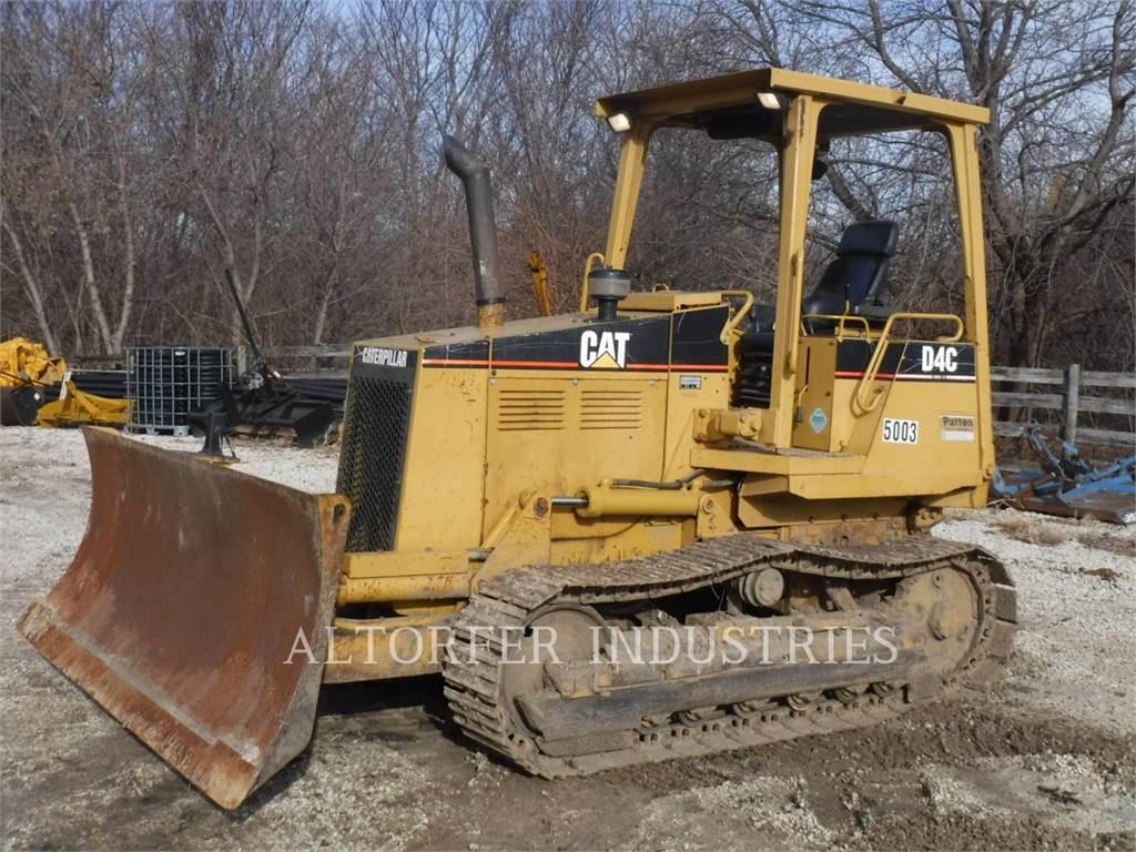 Caterpillar D4C III, Bulldozer, Équipement De Construction