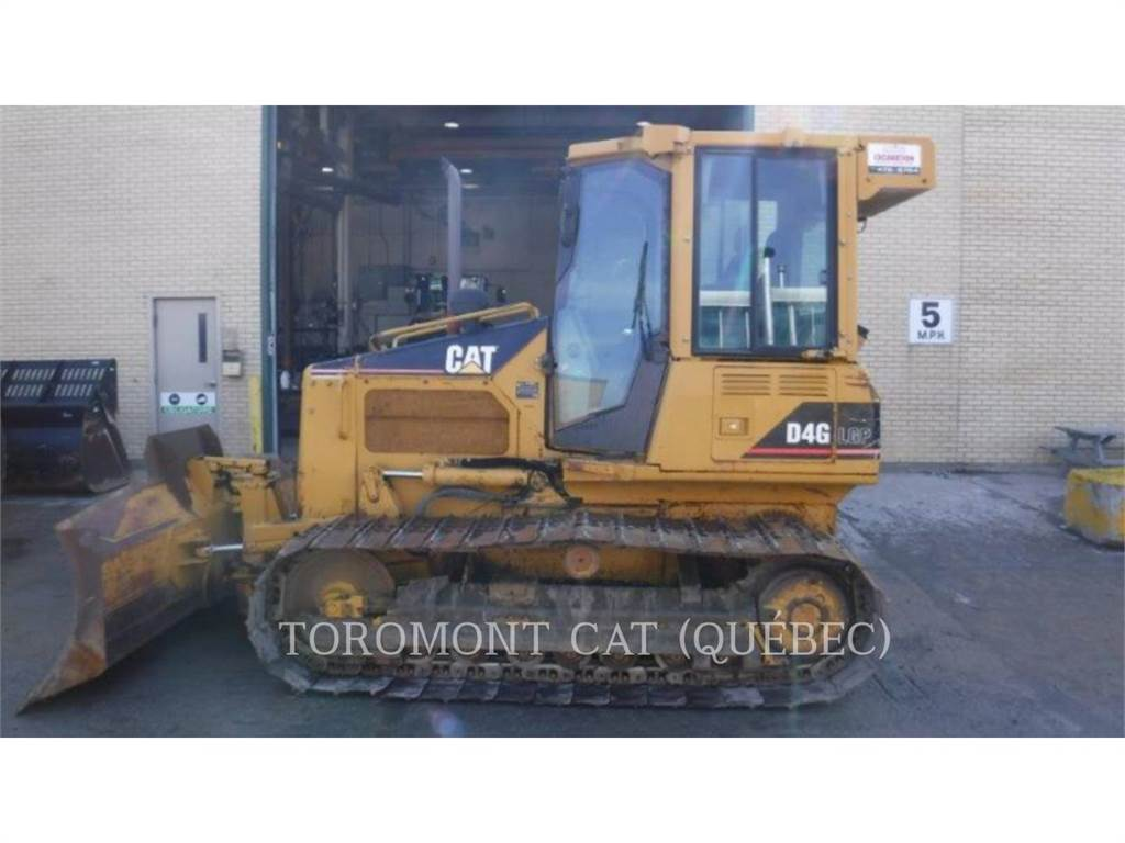 Caterpillar D4GLGP, Dozers, Construction