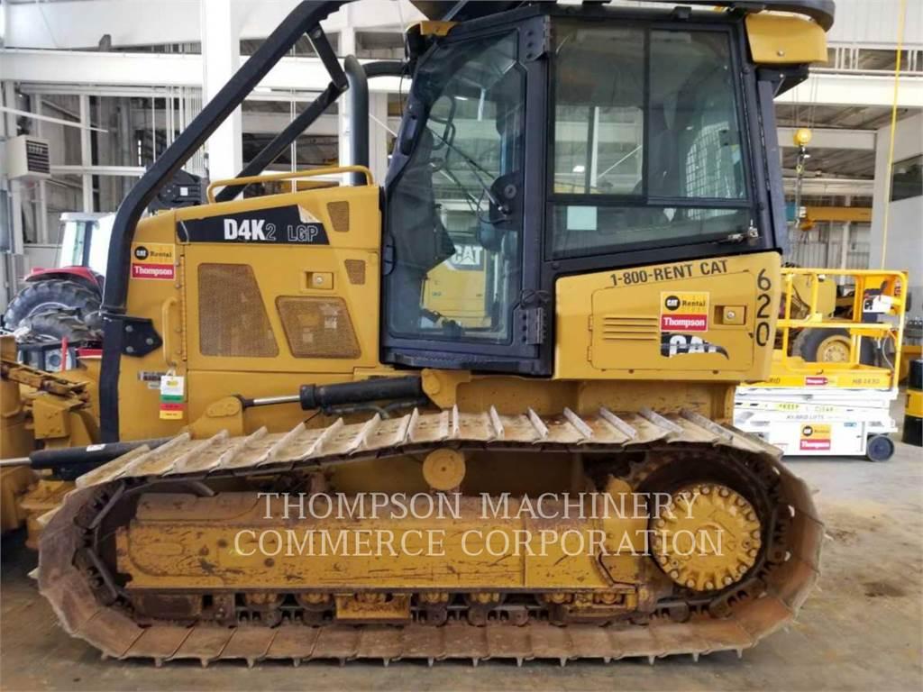 Caterpillar D4K2 LGP, Dozers, Construction