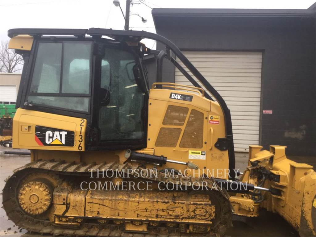 Caterpillar D4K2 XL, Bulldozer, Équipement De Construction