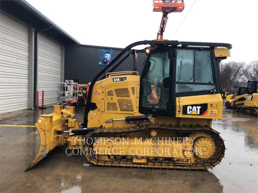 Caterpillar D4K2 XL, Buldozere, Constructii