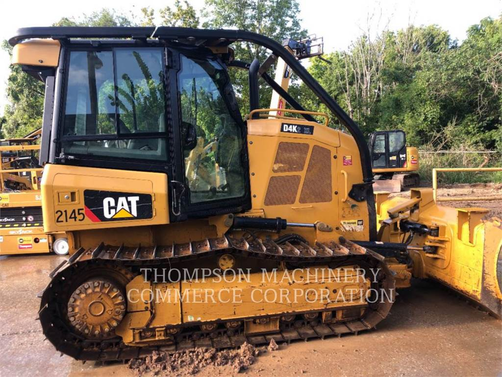 Caterpillar D4K2 XL, Bulldozers, Bouw