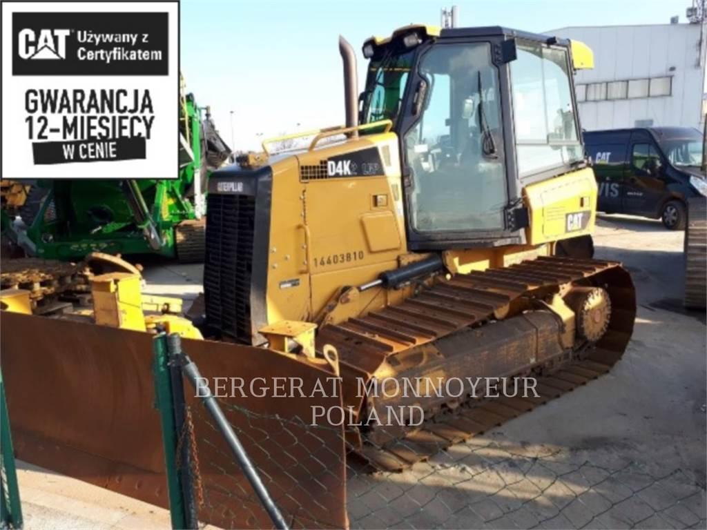 Caterpillar D4K2LGP, Bulldozer, Équipement De Construction