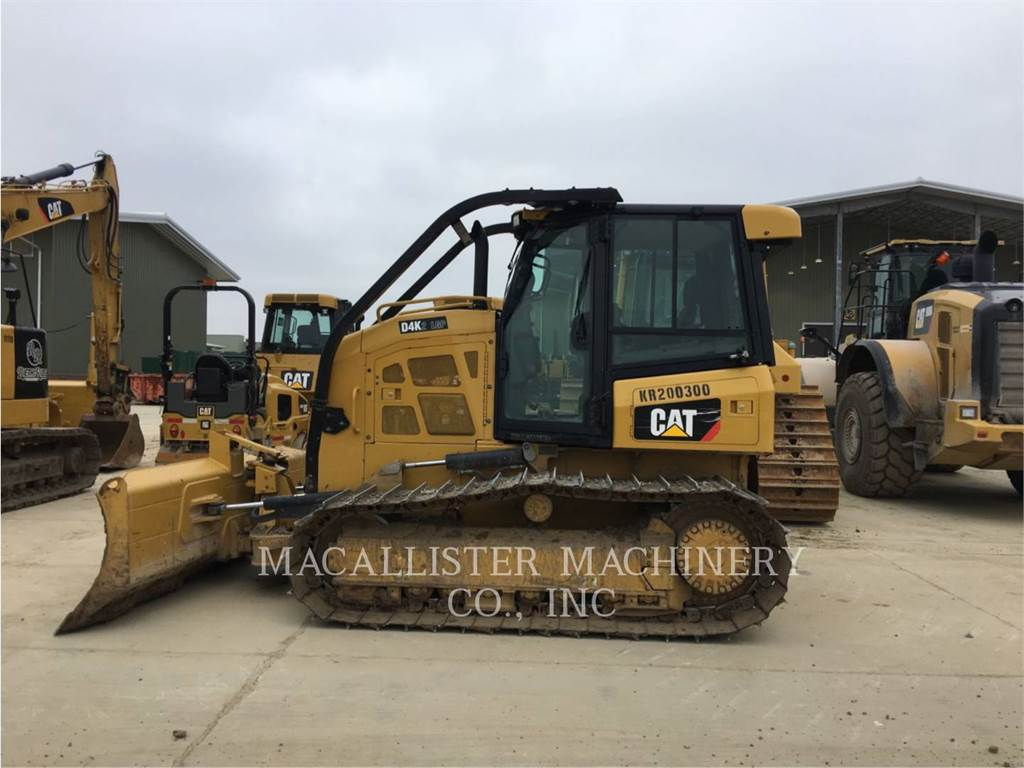 Caterpillar D4K2LGP, Dozers, Construction