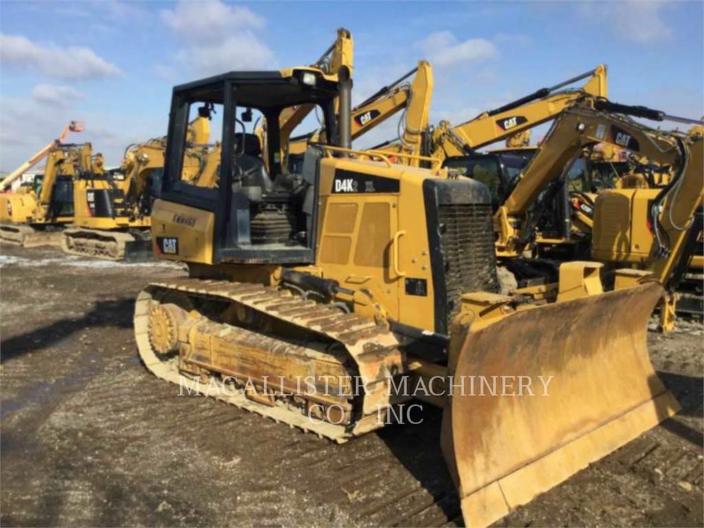 Caterpillar D4K2XL, Bulldozer, Équipement De Construction