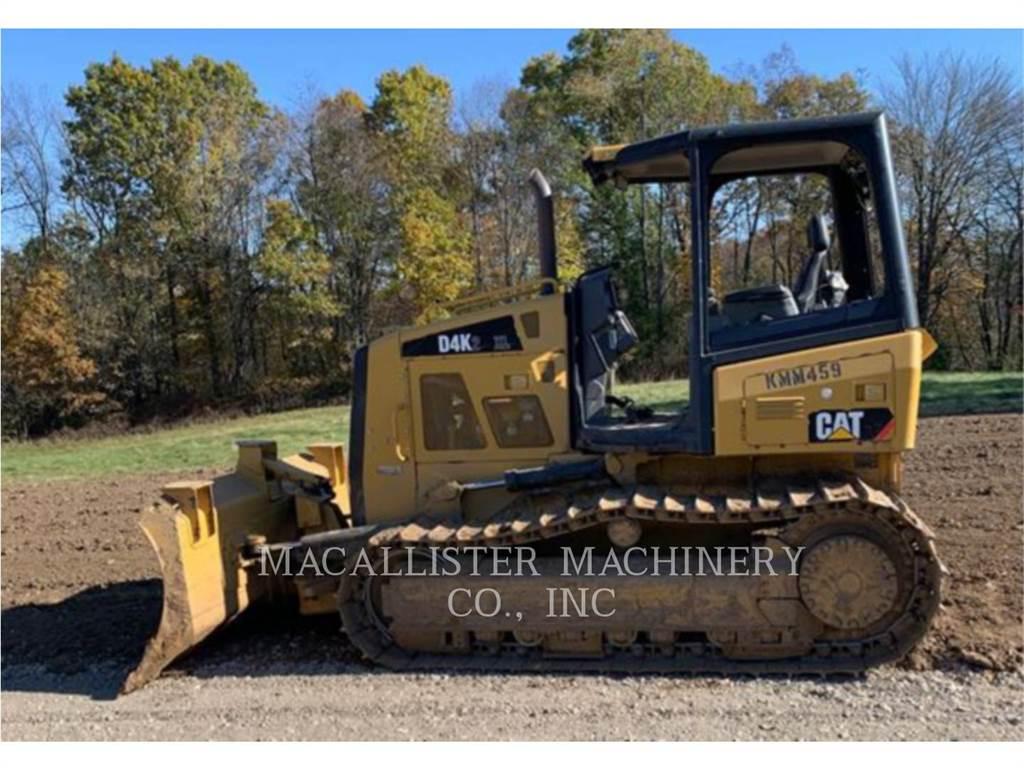 Caterpillar D4K2XL, Spycharki, Sprzęt budowlany