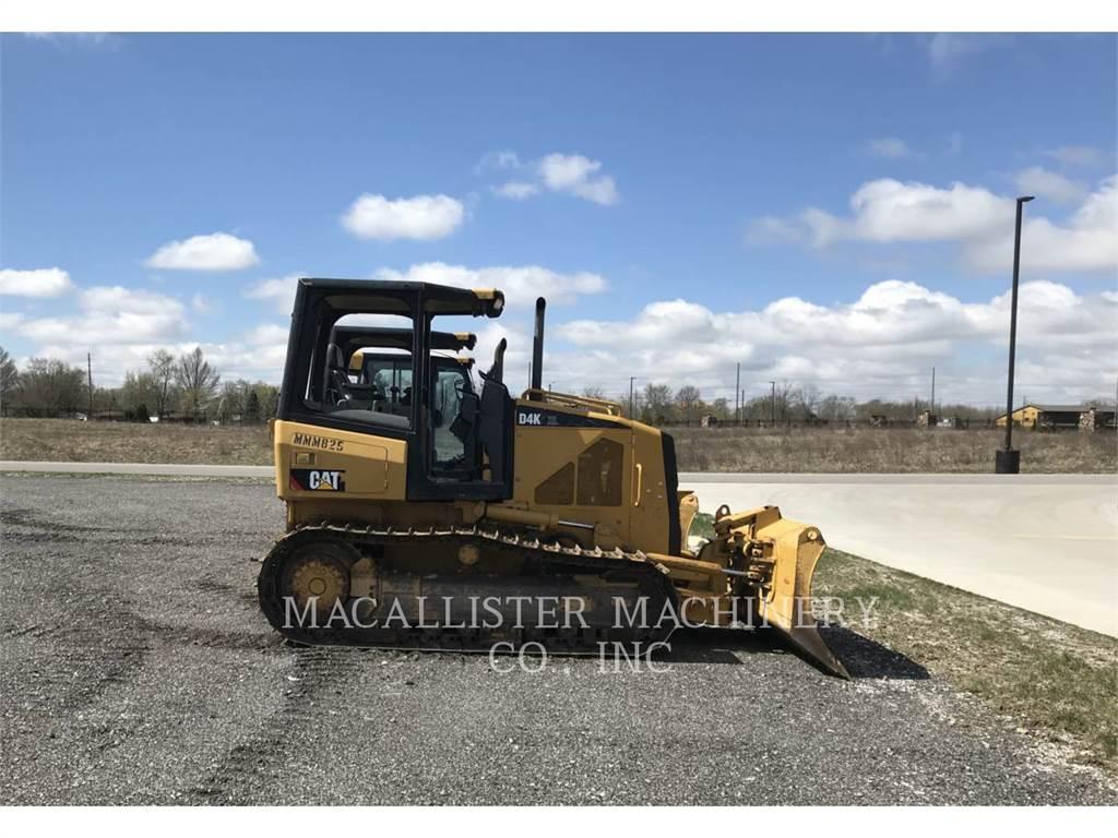 Caterpillar D4KXL、ブルドーザー、建設