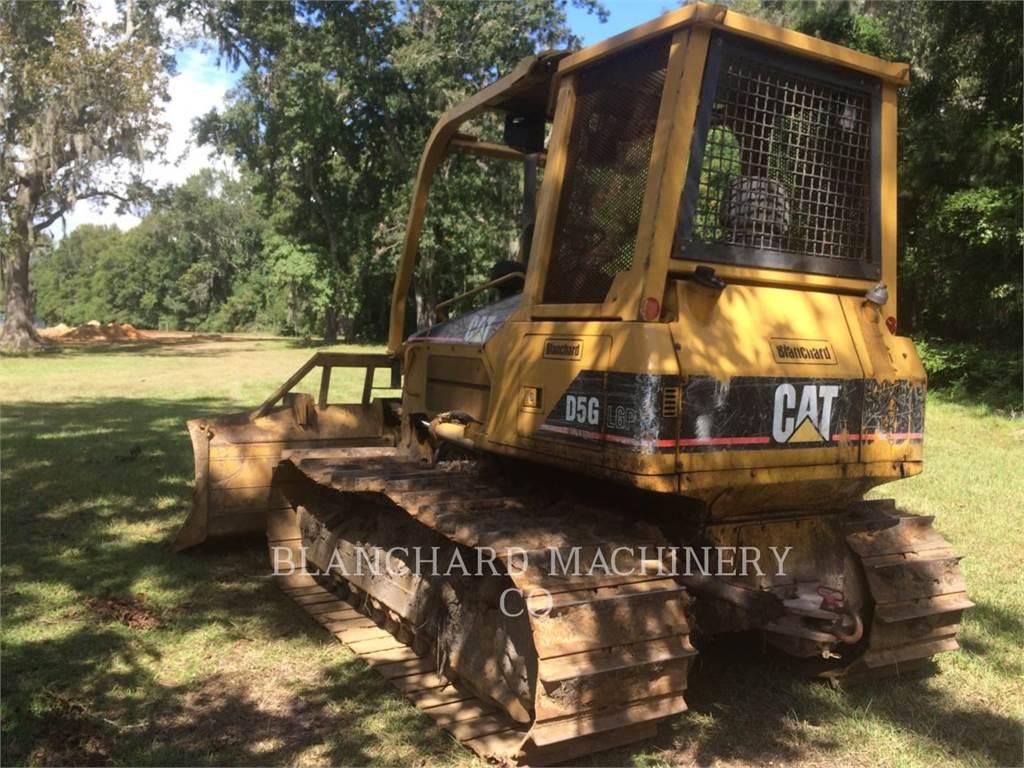 Caterpillar D5GLGP, Bulldozer, Équipement De Construction