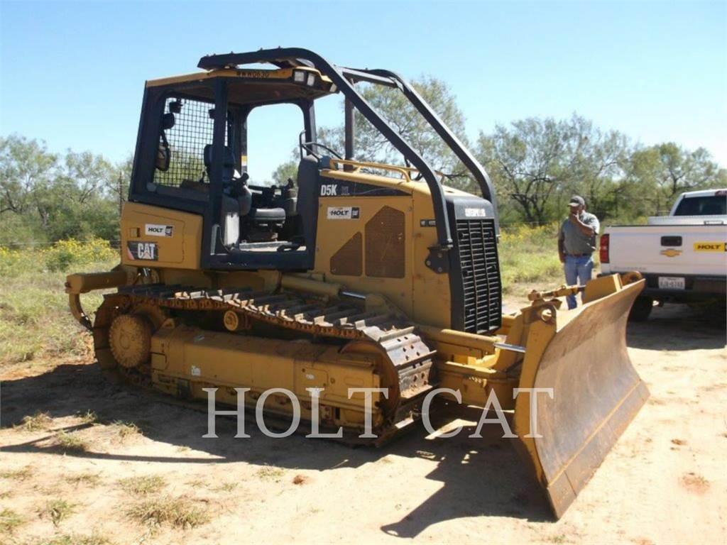 Caterpillar D5K, Dozers, Construction