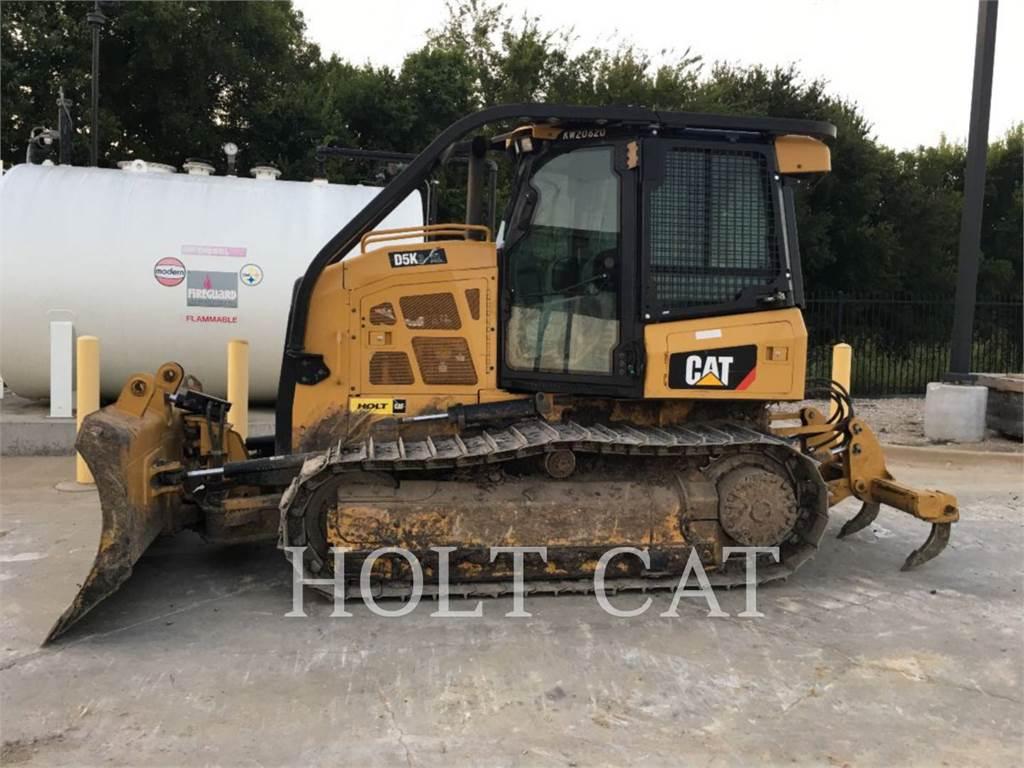 Caterpillar D5K CAB, Buldozere, Constructii