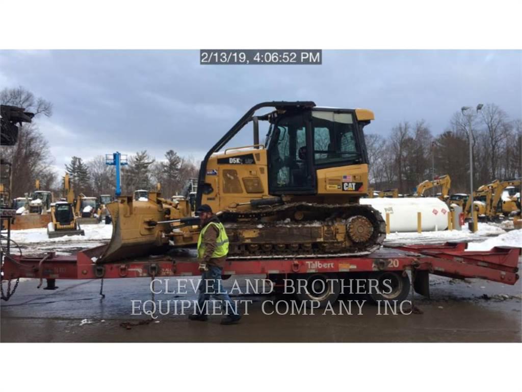 Caterpillar D5K LGP, Bulldozers, Construcción