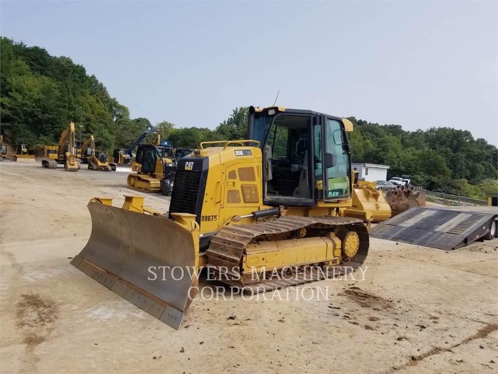 Caterpillar D5K LGP, track loaders, Construction