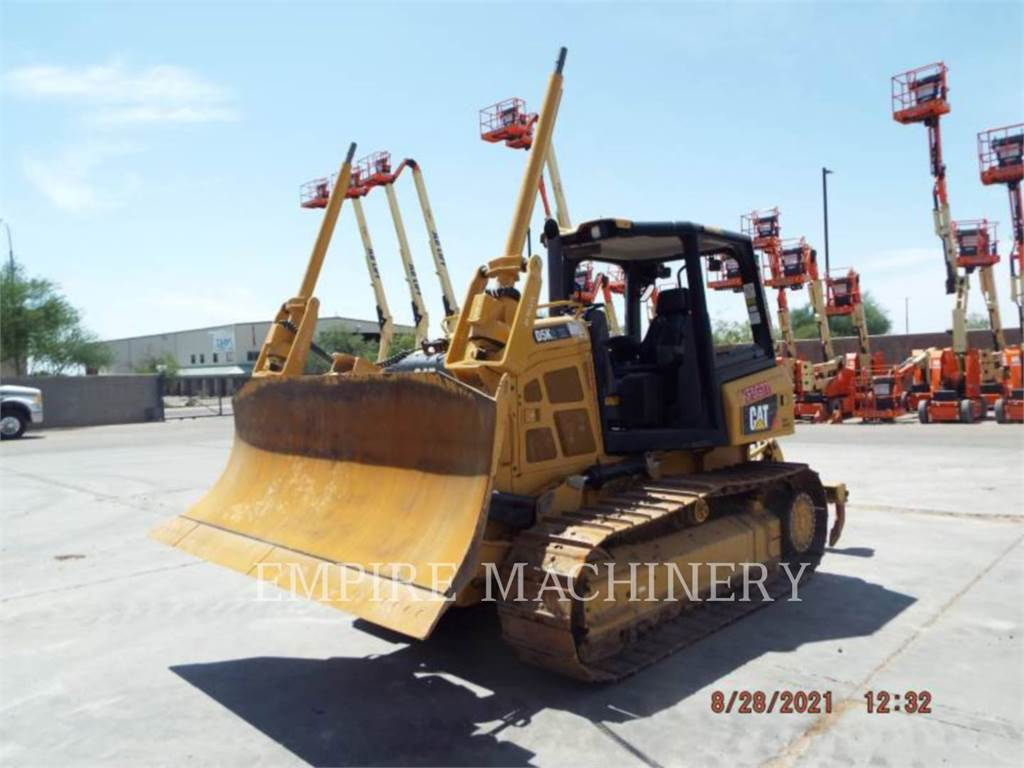 Caterpillar D5K2, Buldozere, Constructii