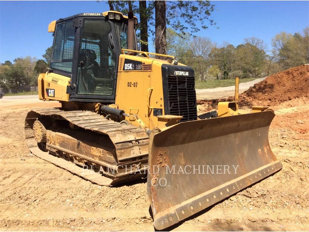 Caterpillar D5K2 LGP, Bulldozer, Équipement De Construction