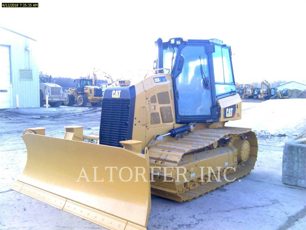 Caterpillar D5K2 LGP3D, Crawler dozers, Construction