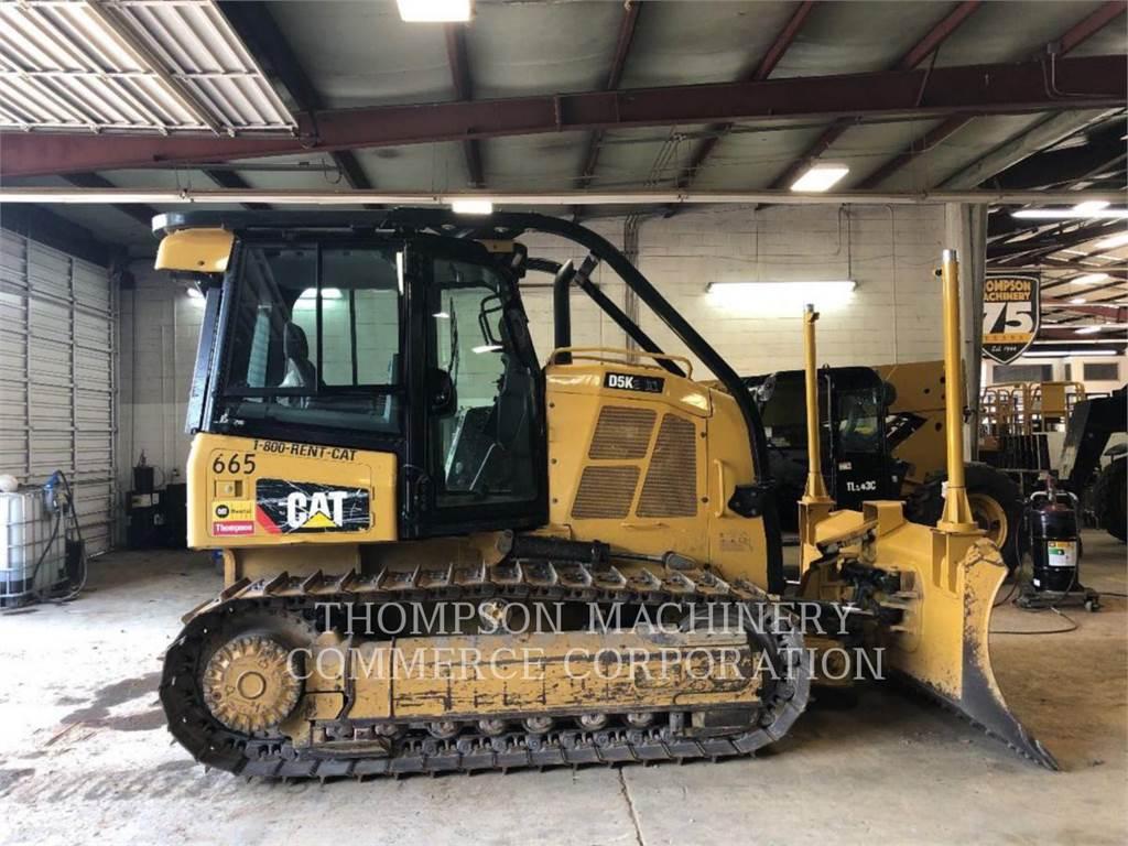 Caterpillar D5K2 XL, Bulldozers, Bouw