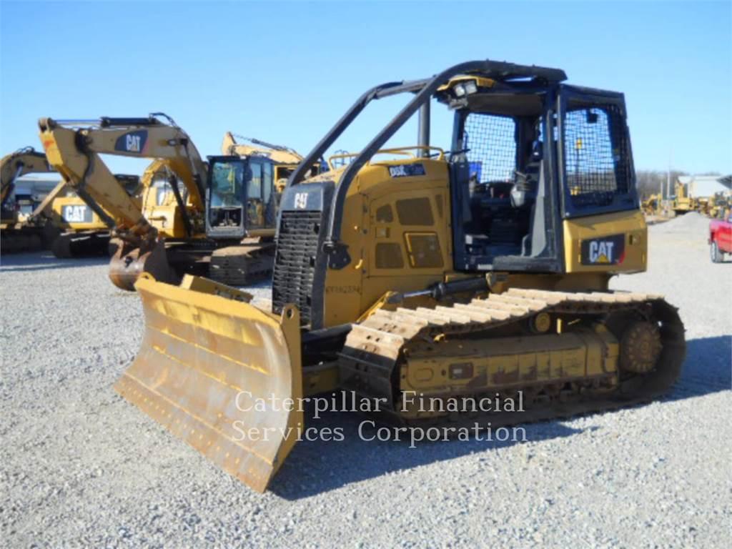 Caterpillar D5K2LGP、推土机、建筑设备