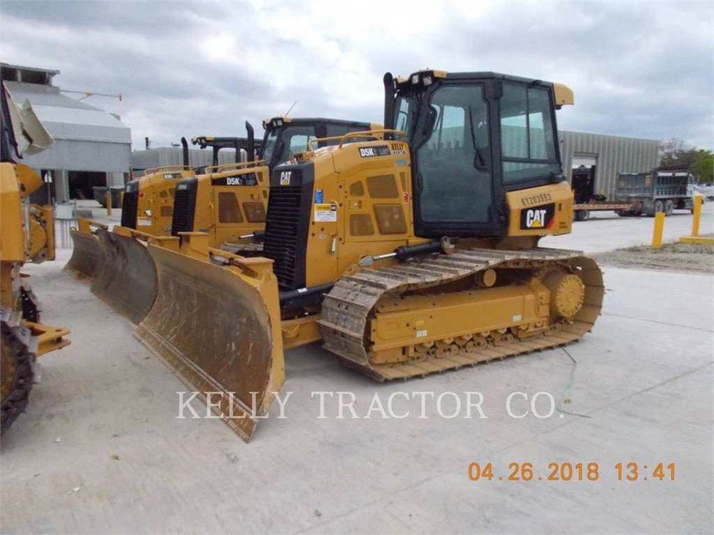 Caterpillar D5K2LGP, Bulldozer, Équipement De Construction