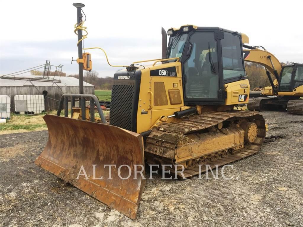 Caterpillar D5K2LGP, Bulldozer, Équipement De Construction