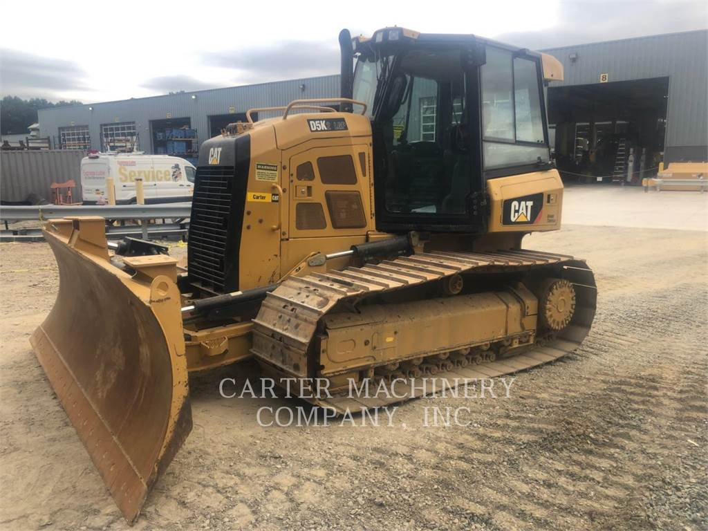 Caterpillar D5K2LGP AR, Buldozere, Constructii