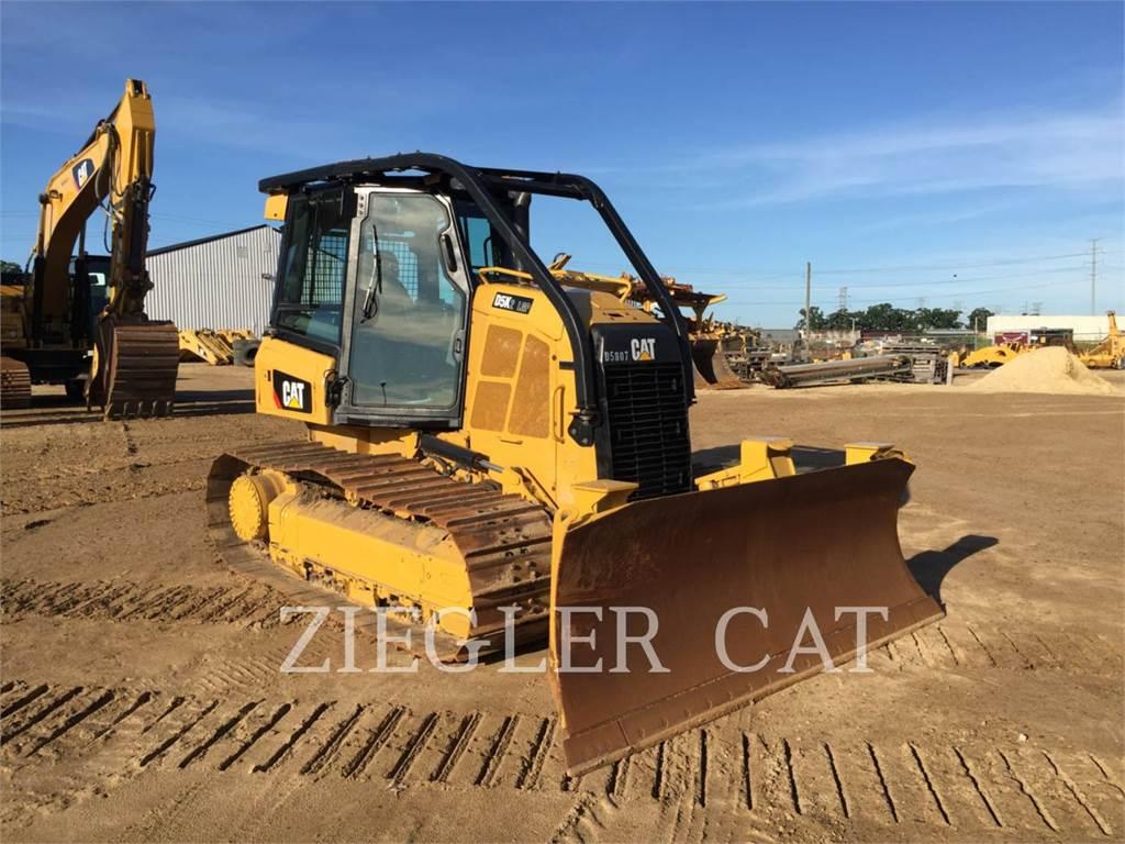 Caterpillar D5K2LGP, Bulldozers, Construcción