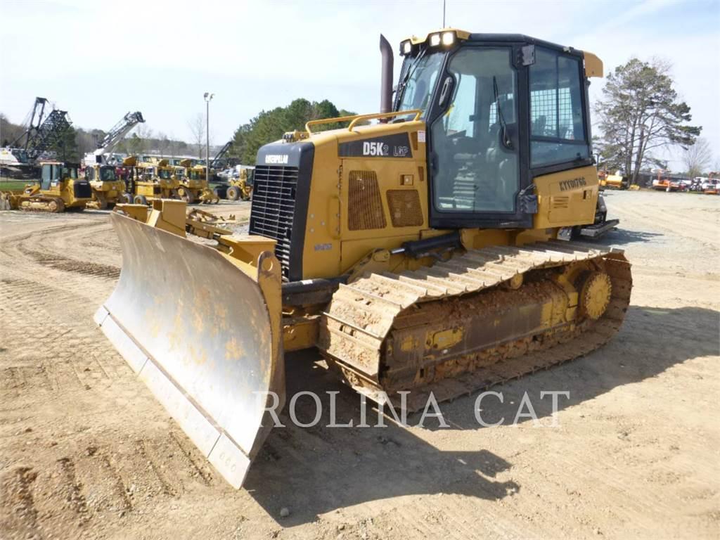 Caterpillar D5K2LGP, Tratores de rastos, Equipamentos Construção