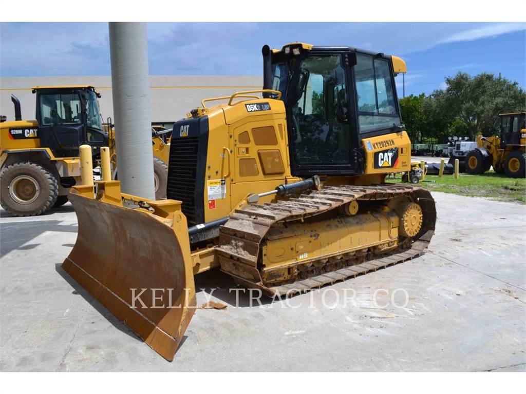 Caterpillar D5K2LGP、ブルドーザー、建設