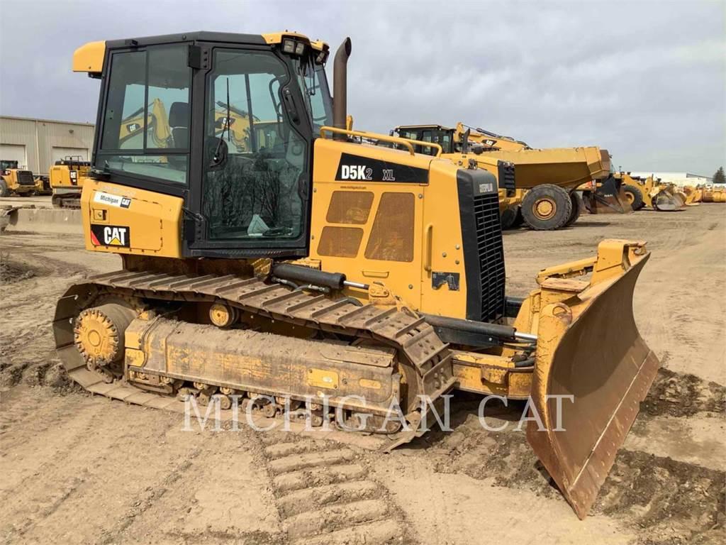 Caterpillar D5K2X AZ2+、推土机、建筑设备