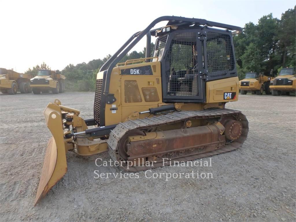 Caterpillar D5K2XL, Spycharki, Sprzęt budowlany
