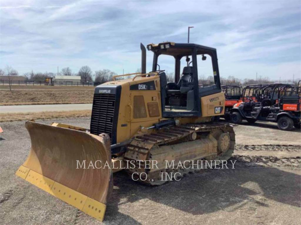 Caterpillar D5K2XL, Bulldozers, Bouw