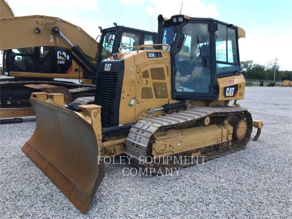 Caterpillar D5K2XLX, Crawler dozers, Construction