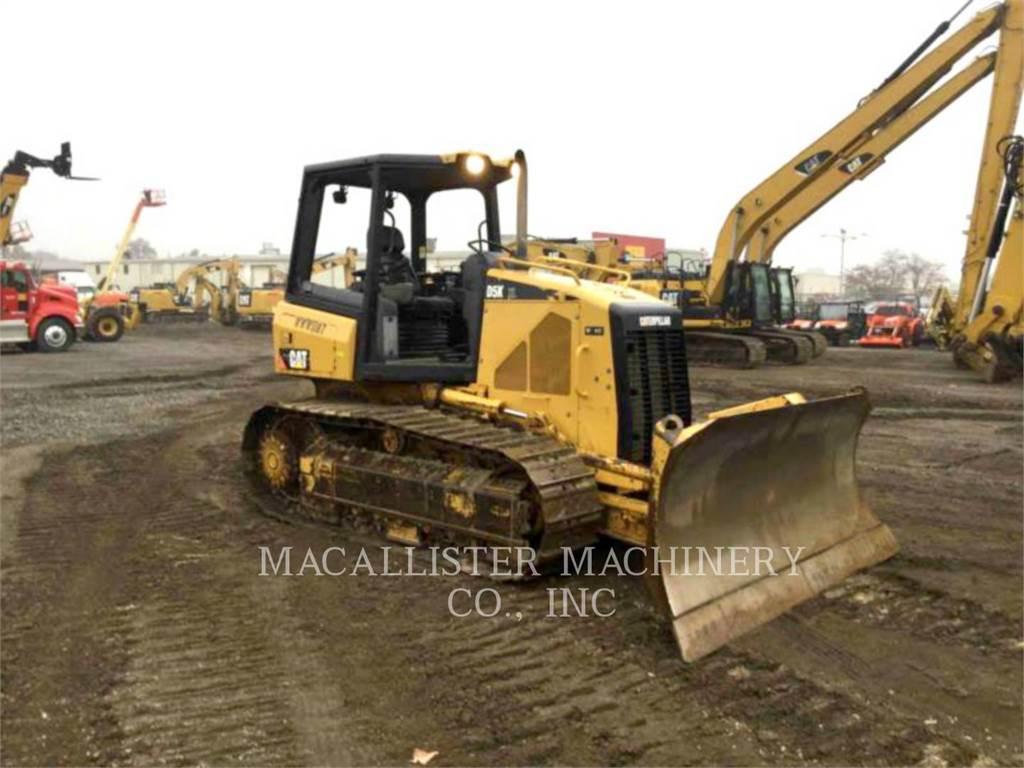 Caterpillar D5KXL、ブルドーザー、建設