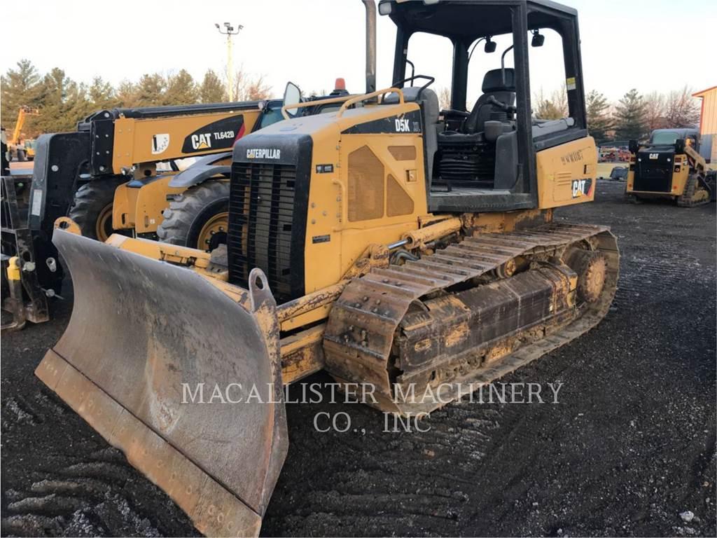 Caterpillar D5KXL, Bulldozers, Construcción