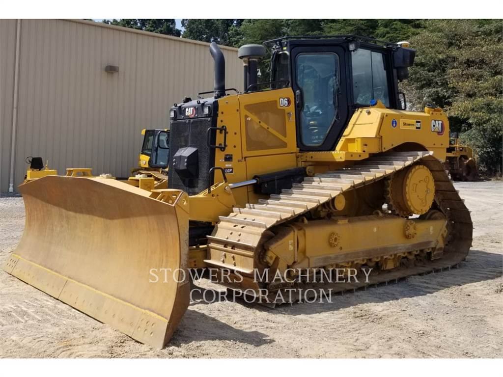Caterpillar D6 LGP PAT, Bulldozers, Construcción