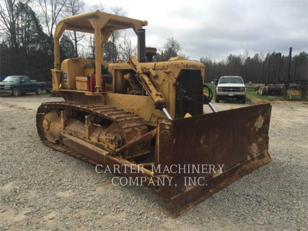 Caterpillar D6C, Dozers, Construction