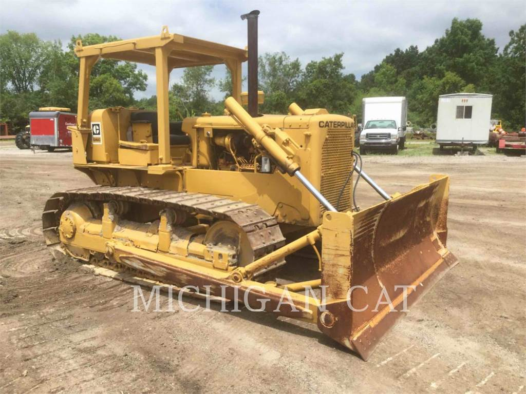 Caterpillar D6C, Dozers, Construction