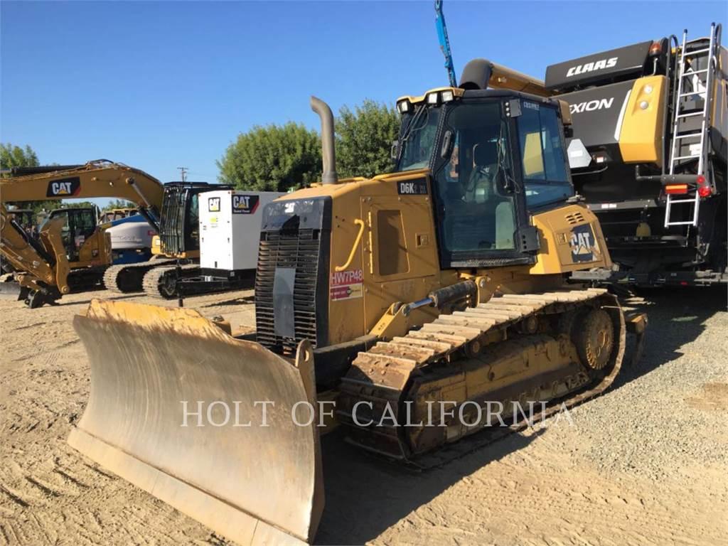 Caterpillar D6K, Buldozere, Constructii