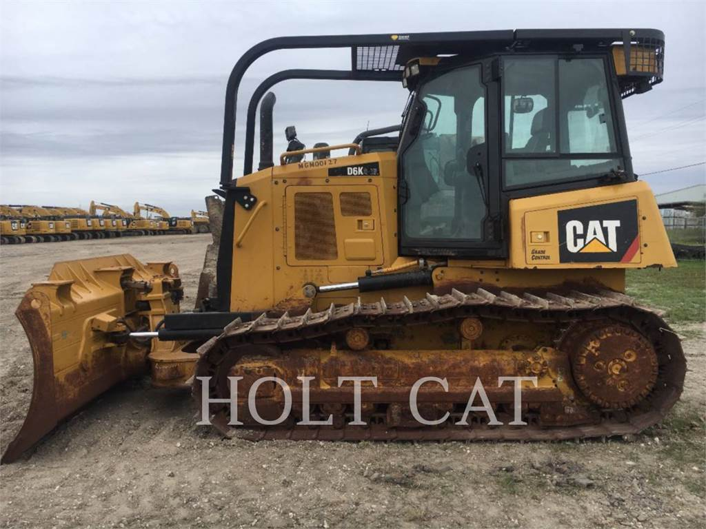 Caterpillar D6K, Dozers, Construction