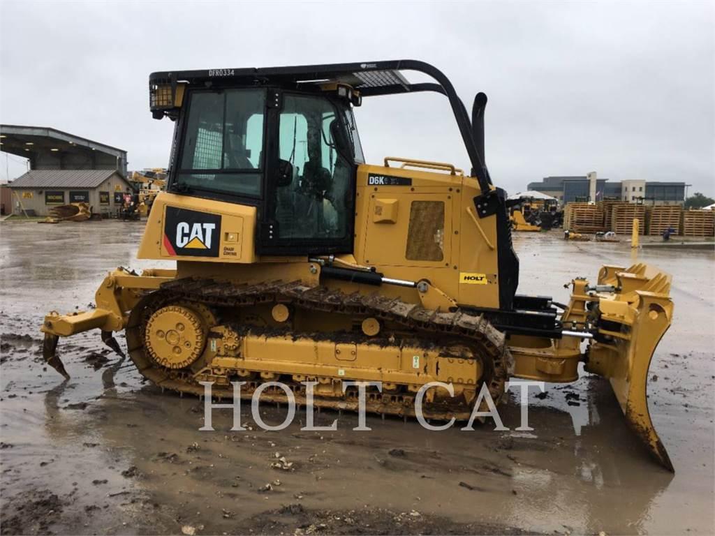 Caterpillar D6K, Bulldozers, Bouw
