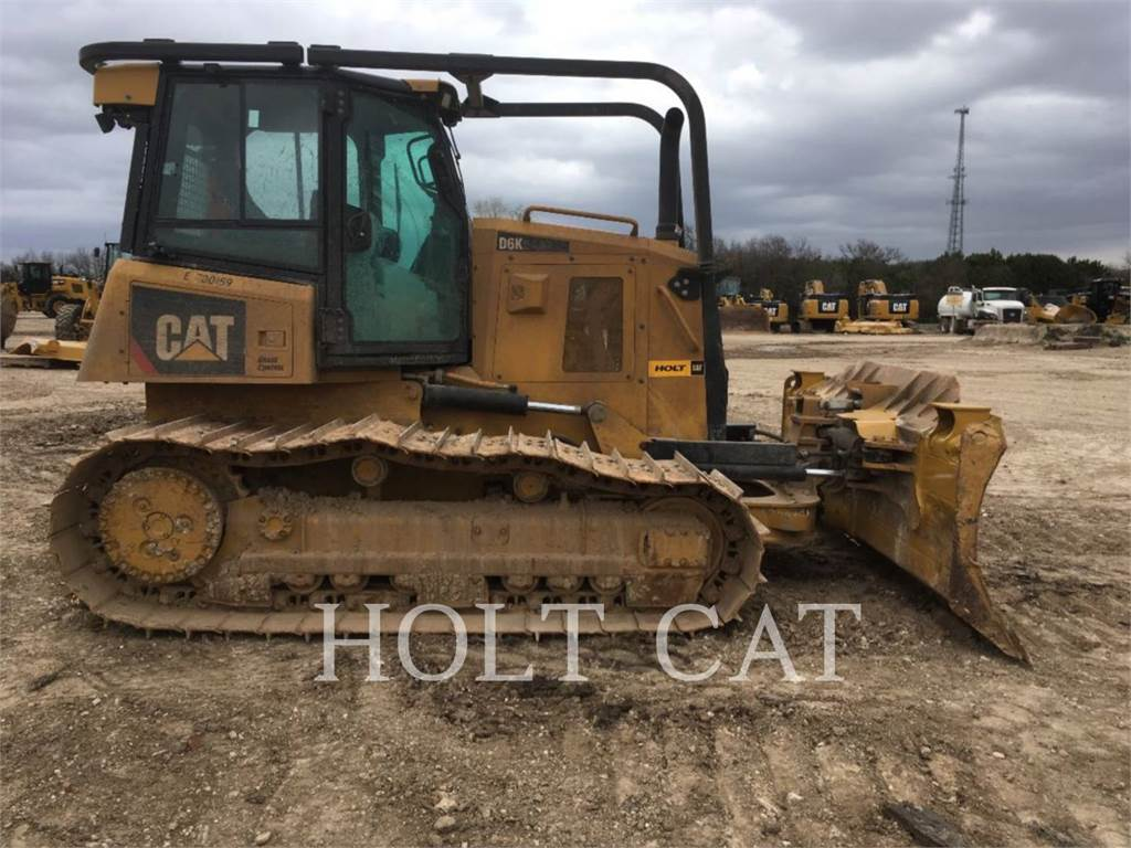 Caterpillar D6K LGP, Bulldozers, Bouw