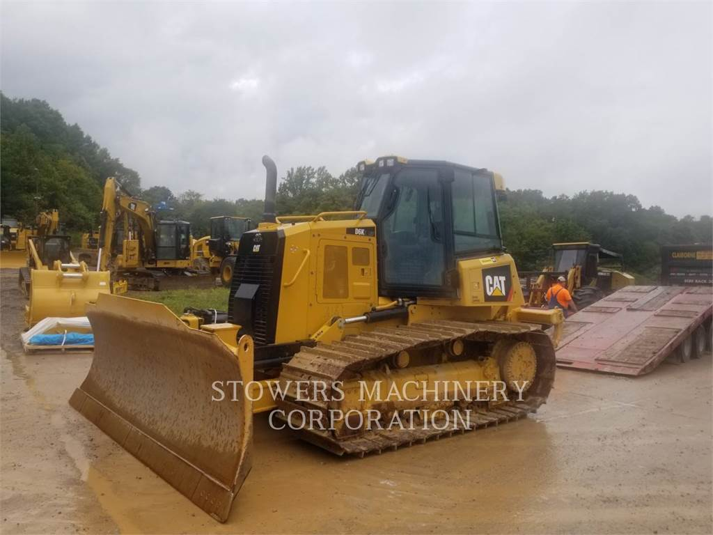 Caterpillar D6K-LGP、ブルドーザー、建設